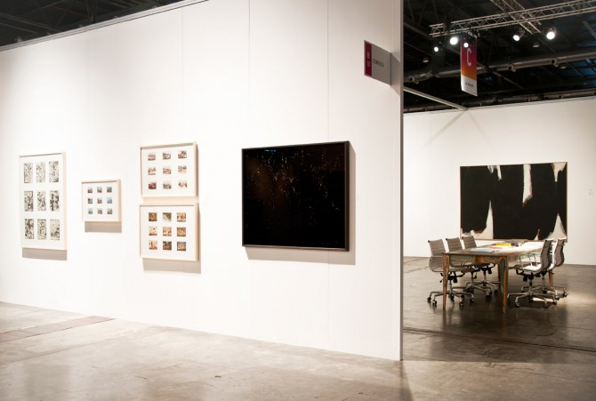 Cosmocosa in arteBA 2013, works by Alfredo Londaibere, Ignacio Iasparra and Kenneth Kemble